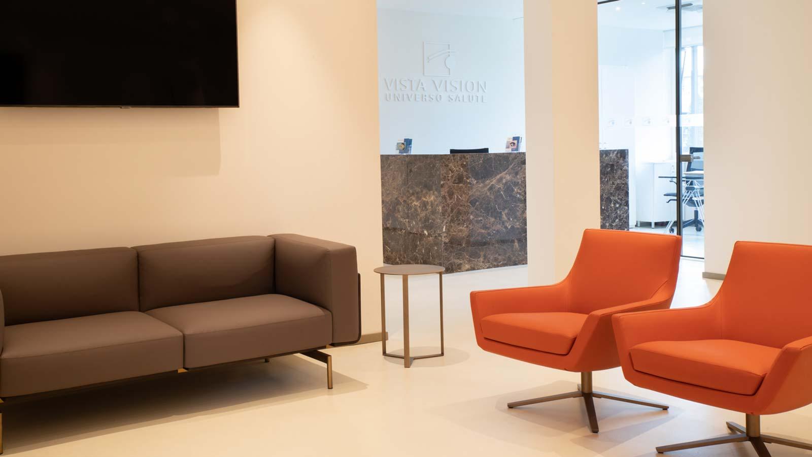 Milano - secondo piano clinica Vista Vision