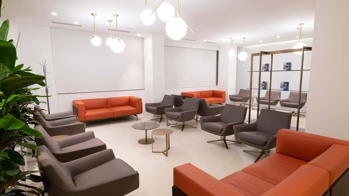 Milano - sala d'attesa clinica Vista Vision