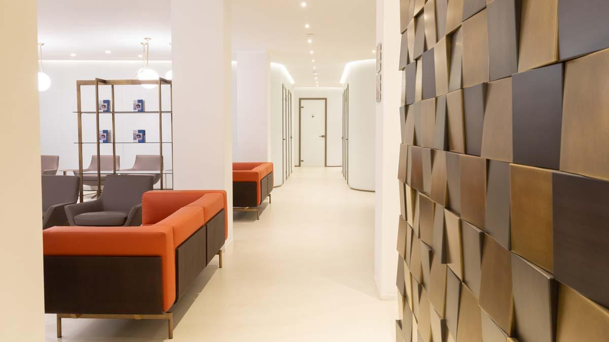Milano - reception clinica Vista Vision